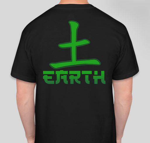 Help us fulfill our dream Fundraiser - unisex shirt design - back
