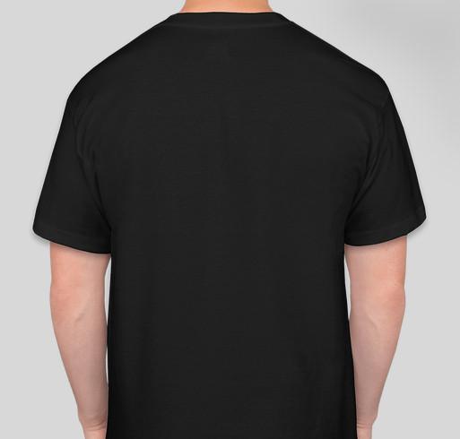"KBOO ""March 4 Metal"" Limited Edition T-shirt Fundraiser - unisex shirt design - back"