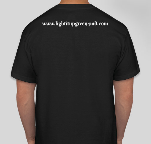 Help spread the word Muscular and Neuromuscular diseases Fundraiser - unisex shirt design - back
