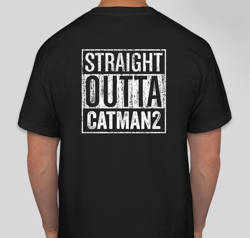 Catman2 Taawwd T-Shirt Fundraiser Fundraiser - unisex shirt design - back
