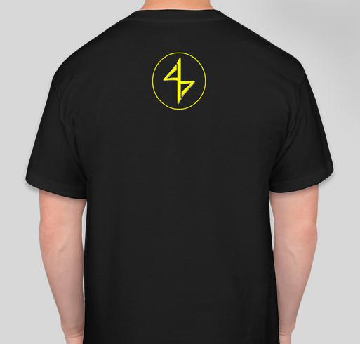 "417 Studios (FourOneSevenStudios) - ""Flight"" T-Shirt - Print Store Launch Fundraiser - unisex shirt design - back"