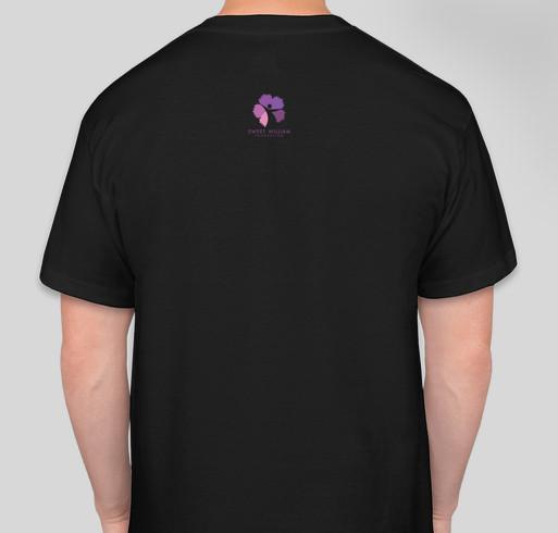 Every Hero Welcome Fundraiser - unisex shirt design - back