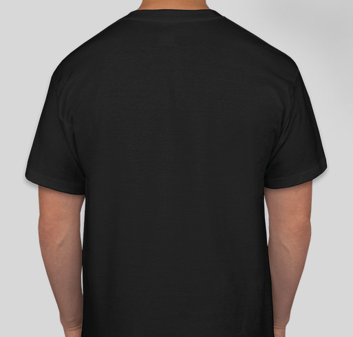 Do Something Today Black Shirt Fundraiser - unisex shirt design - back