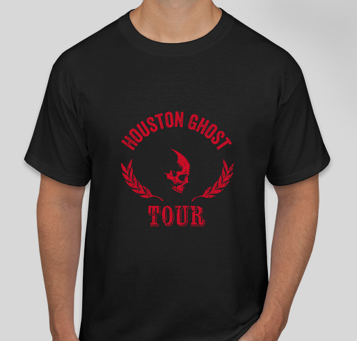 Houston Ghost Tour - Free For Life T-Shirt Fundraiser - unisex shirt design - front
