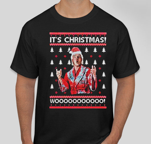 848af97b640 Ric Flair its Christmas woo shirt Fundraiser - unisex shirt design - front