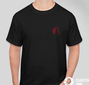 Hanes Tagless T-shirt — Black