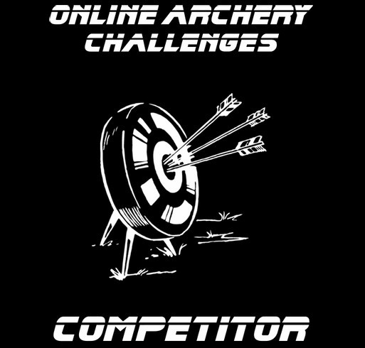 Online Archery Challenges shirt design - zoomed