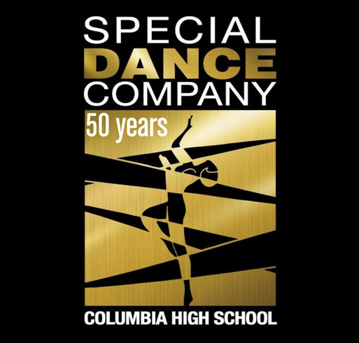 Special Dance Company Fundraiser 50th Anniversary Limited Edition T-Shirts shirt design - zoomed