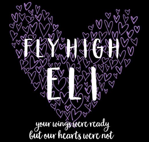 fly high eli shirt design - zoomed