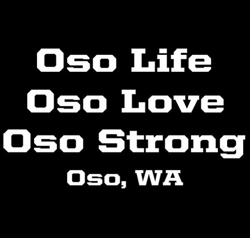 Oso Strong shirt design - zoomed