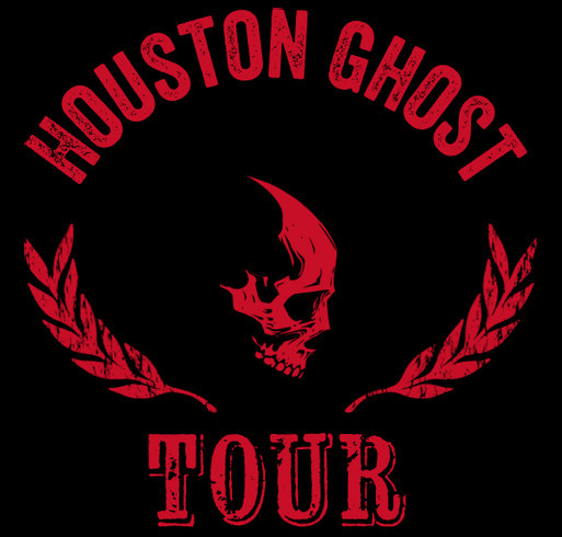 Houston Ghost Tour - Free For Life T-Shirt shirt design - zoomed