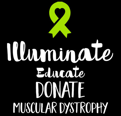 Help spread the word Muscular and Neuromuscular diseases shirt design - zoomed