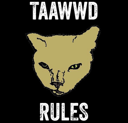 Catman2 Taawwd T-Shirt Fundraiser shirt design - zoomed