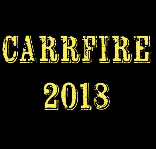 CarrFire & Mendocino Complex Animals shirt design - zoomed