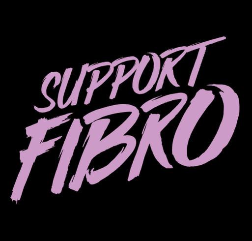 Support Fibromyalgia! shirt design - zoomed
