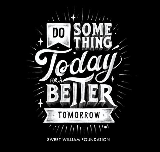 Do Something Today Black Shirt shirt design - zoomed