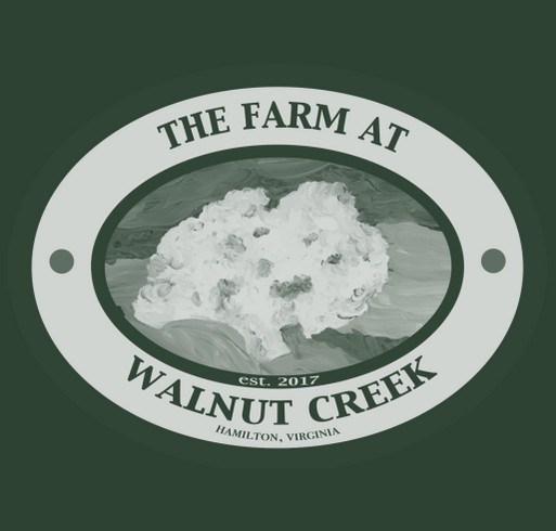 The Farm at Walnut Creek, Hamilton Va- Historic Barn Restoration Project shirt design - zoomed