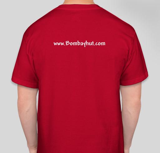Support BHUT Fundraiser - unisex shirt design - back