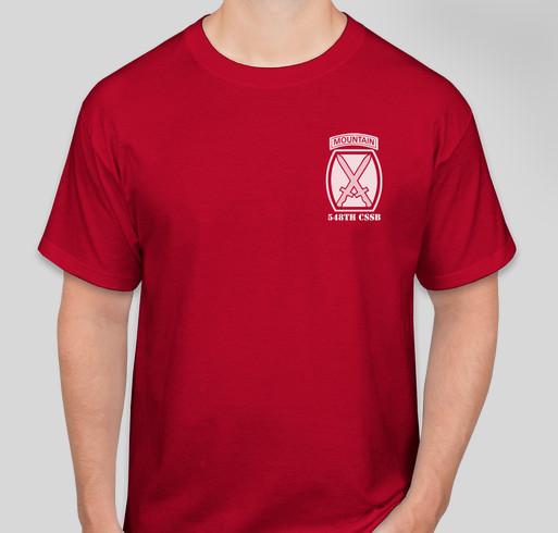 548th Battalion T Shirt