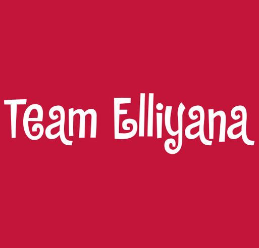 Elli's Fight shirt design - zoomed