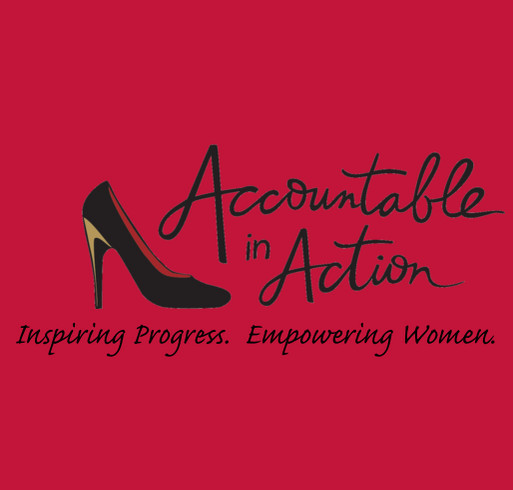 Accountable In Action T-shirt shirt design - zoomed