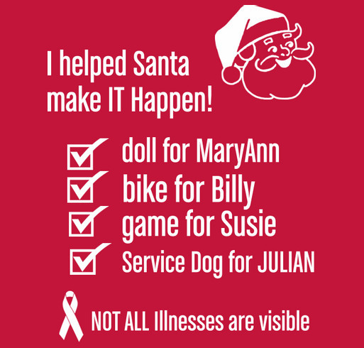 Help Julian get a service dog Custom Ink Fundraising