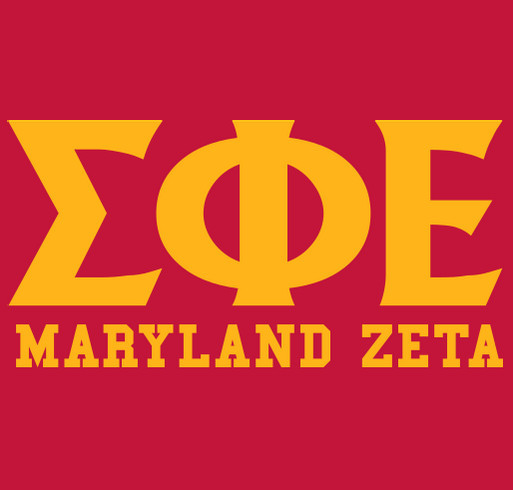 SigEp Maryland Zeta shirt design - zoomed