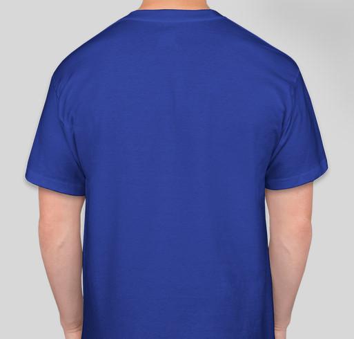 """She Wins"" Female Led Relationship T-Shirt (Yellow) Fundraiser - unisex shirt design - back"