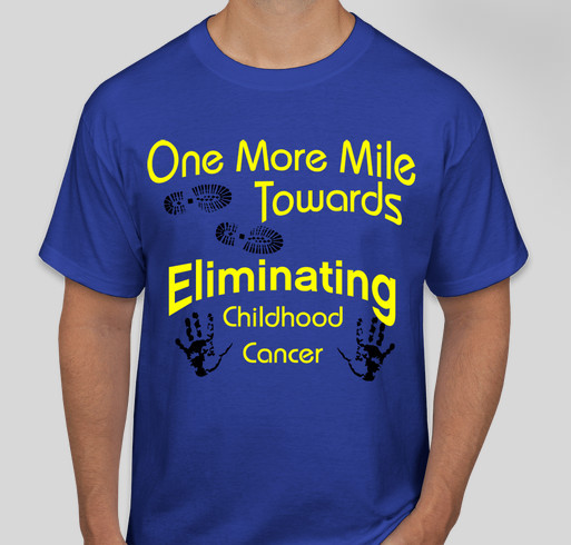 Team Stehlings Million Mile! Fundraiser - unisex shirt design - front