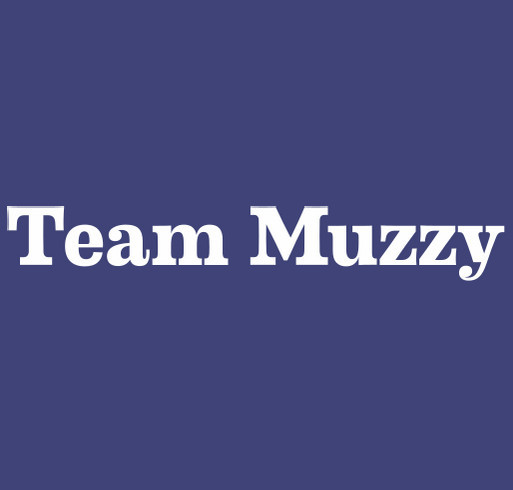 Supporting Sgt. Cory Muzzy shirt design - zoomed