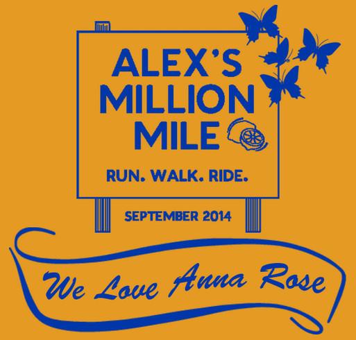 We Love Anna Rose 2014 shirt design - zoomed