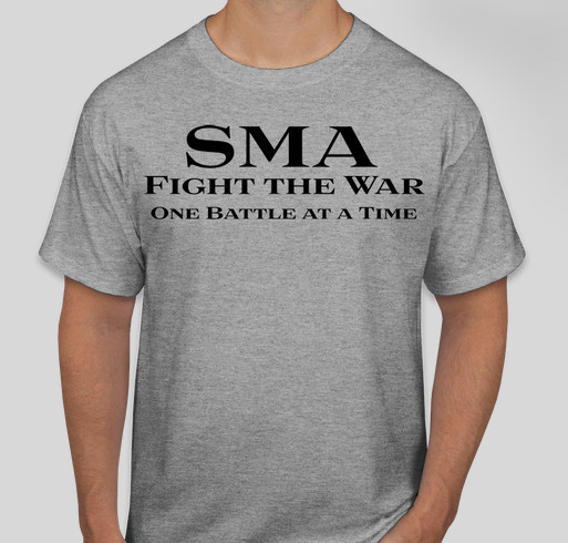 8cf81958 Bubby's Battle with SMA Fundraiser - unisex shirt design - front