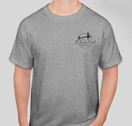 Rebuild St. Charles Parish Fundraiser - unisex shirt design - front