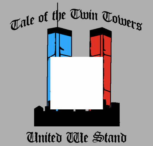 Tale of Twin Towers© shirt design - zoomed