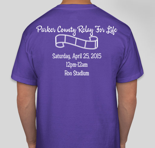 Parker county relay for life 2015 fundraiser online for Relay for life t shirt designs