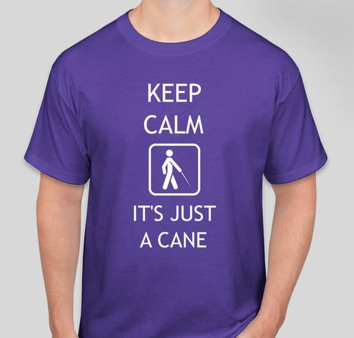 Help change the world for blind children! Fundraiser - unisex shirt design - front