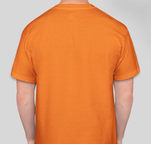 IVF for Baby Hansen Fundraiser - unisex shirt design - back