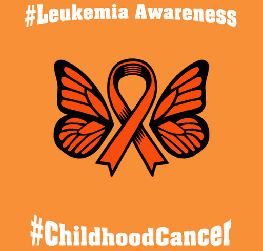 Leanna Strong (Leanna Fights Leukemia) shirt design - zoomed