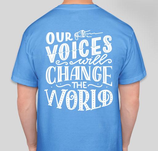 Tony Hall Memorial Fundraiser - unisex shirt design - back