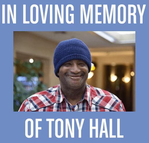 Tony Hall Memorial shirt design - zoomed