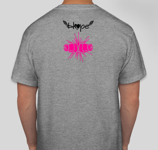 486ad63a80b Go GREY for MAY BRAIN/BREAST CANCER AWARENESS!! Fundraiser - unisex shirt  design