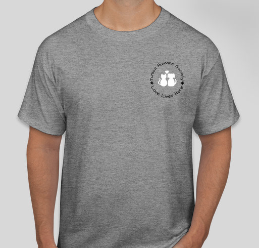 Tunica Humane Society's Puttin' on the Dog! It's a Family Affair! Fundraiser - unisex shirt design - front