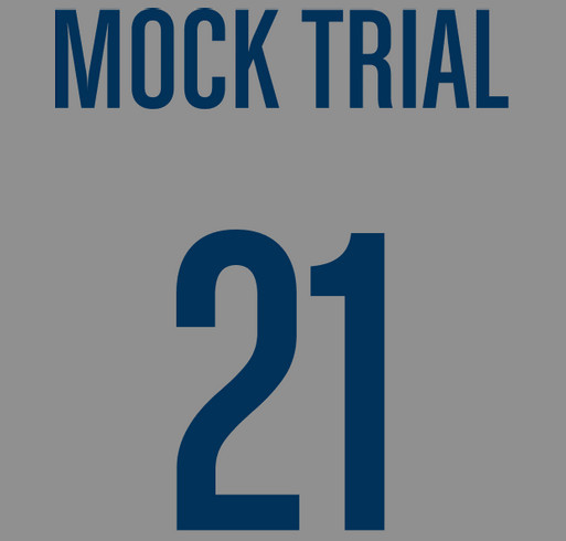 2021 National Mock Trial Competition shirt design - zoomed