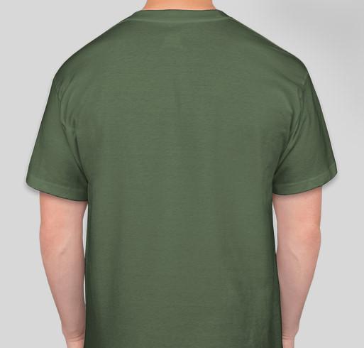 Outdoors Club Fundraiser Fundraiser - unisex shirt design - back