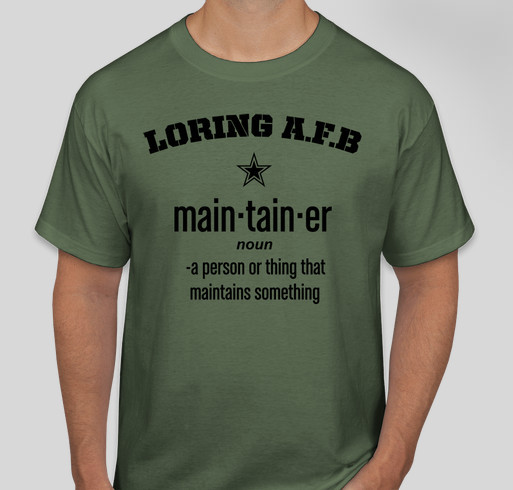 LAFB Maintainers Fundraiser - unisex shirt design - back