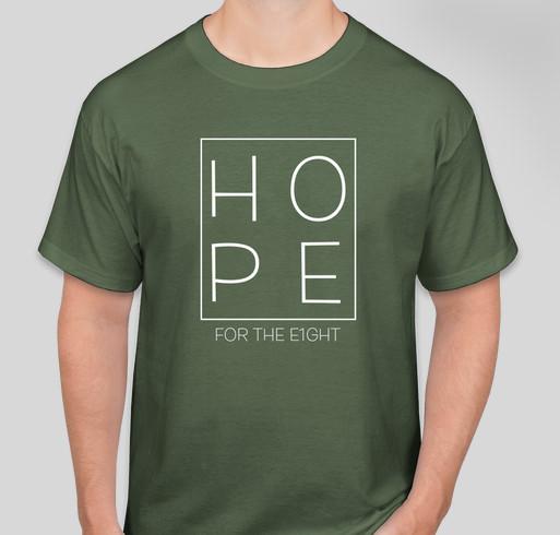 IVF for Baby Hansen Fundraiser - unisex shirt design - front