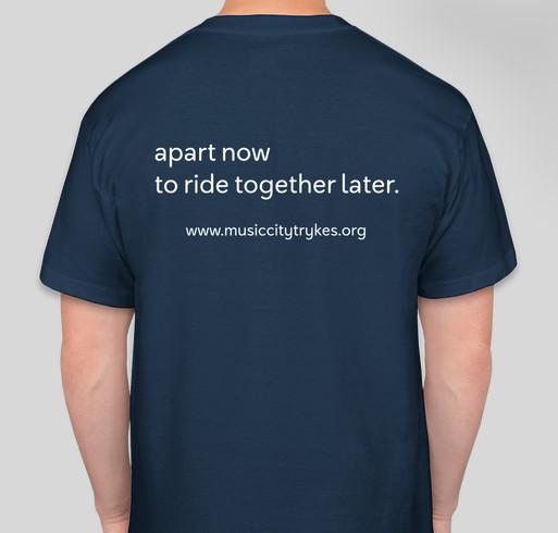 MCT Virtual Ride n' Run 2020 Fundraiser - unisex shirt design - back