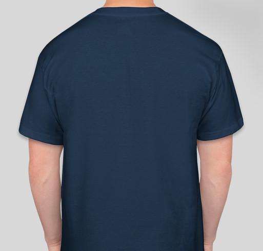 Jazz Pensacola needs your support! Fundraiser - unisex shirt design - back