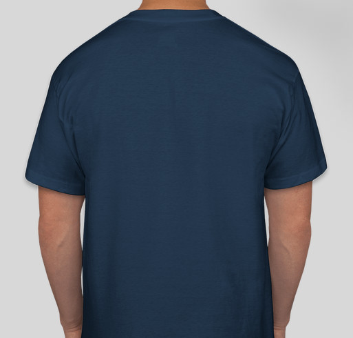 Boom-Boom's Army Fundraiser - unisex shirt design - back