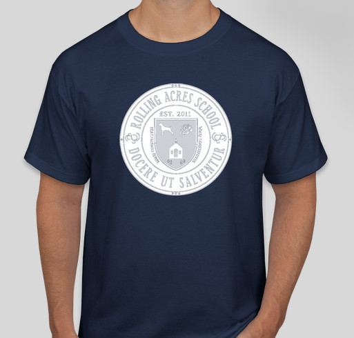 2019-2020 Schola Rosa and R.A.S. Online Academy Polos Fundraiser - unisex shirt design - front